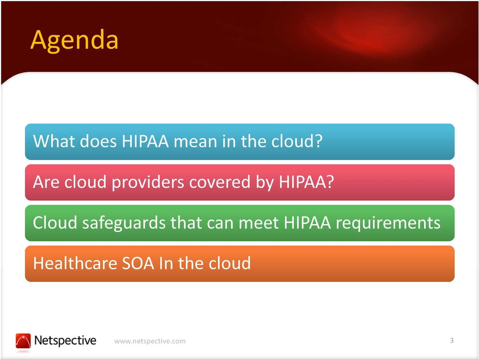 Are cloud providers covered by HIPAA?