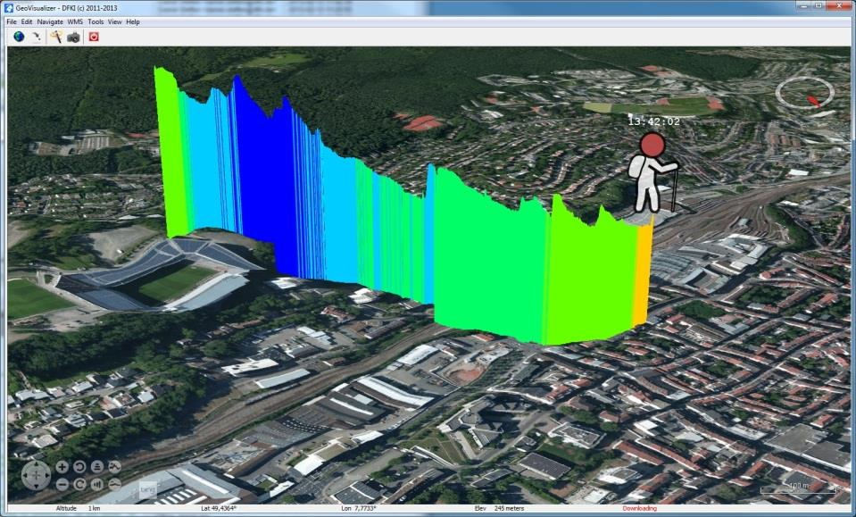GeoVisualizer Overview (cont.) Developed in the European project SUDPLAN (www.sudplan.