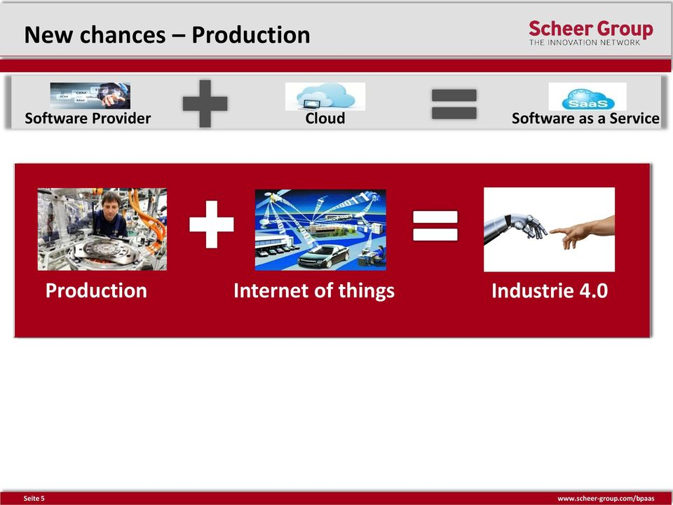 Production Provider Internet Cloud of