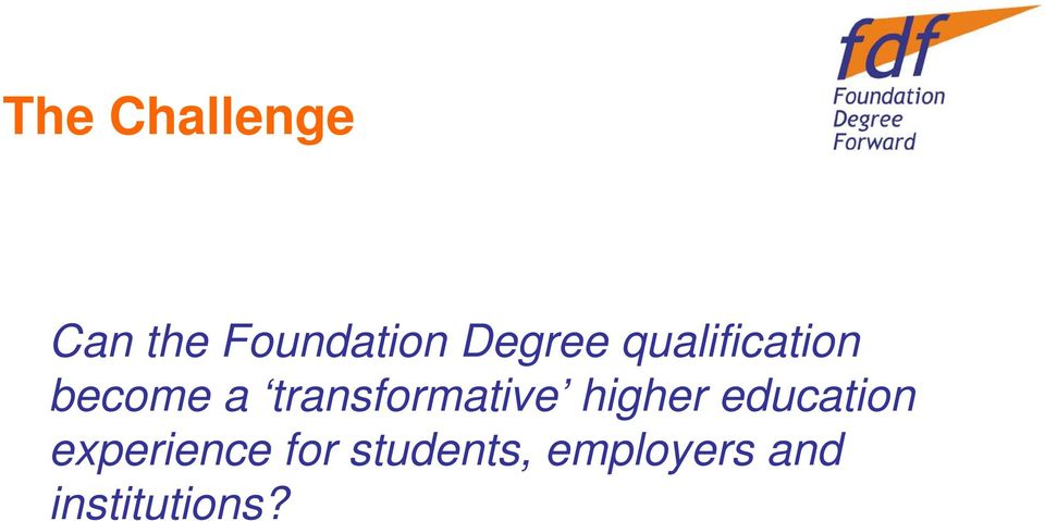 transformative higher education