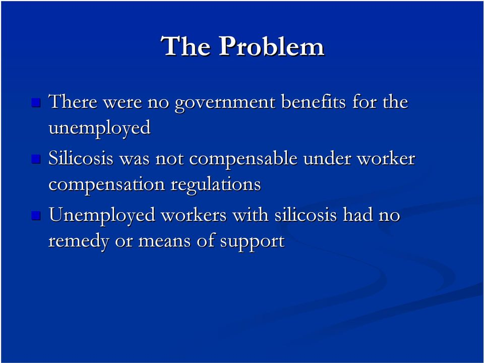 under worker compensation regulations Unemployed