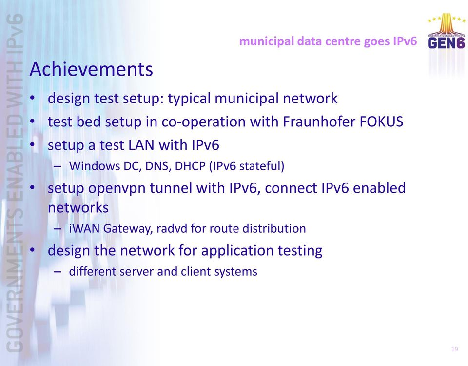 stateful) setup openvpn tunnel with IPv6, connect IPv6 enabled networks iwan Gateway, radvd for