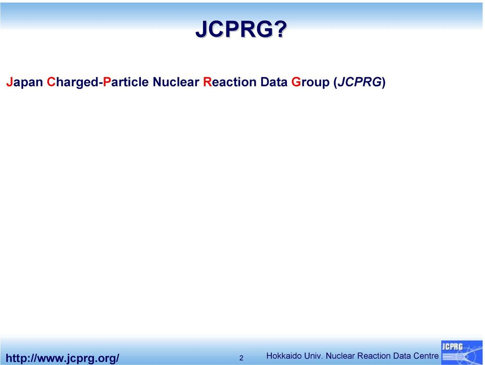 Katō) R&D contraction for nuclear data with RIKEN Nishina Center Collaborative nuclear data