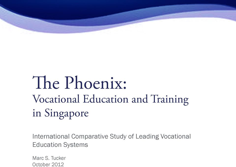 Comparative Study of Leading Vocational