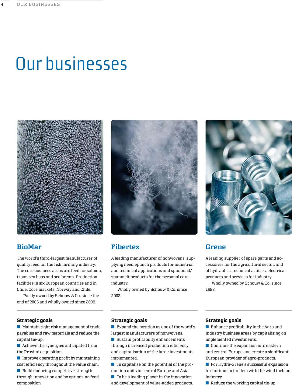 Fibertex A leading manufacturer of nonwovens, supplying needlepunch products for industrial and technical applications and spunbond/ spunmelt products for the personal care industry.