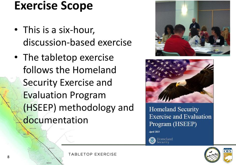 exercise follows the Homeland Security