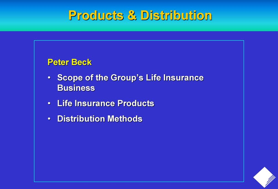 Insurance Business Life
