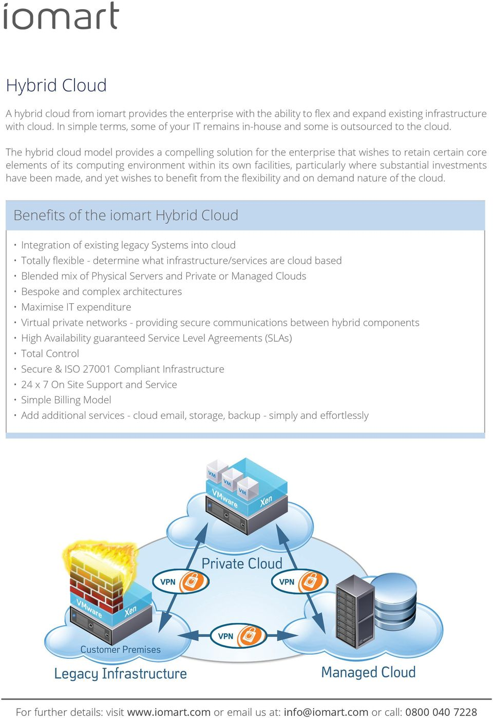 The hybrid cloud model provides a compelling solution for the enterprise that wishes to retain certain core elements of its computing environment within its own facilities, particularly where