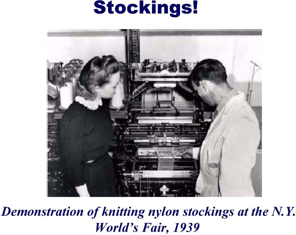 knitting nylon