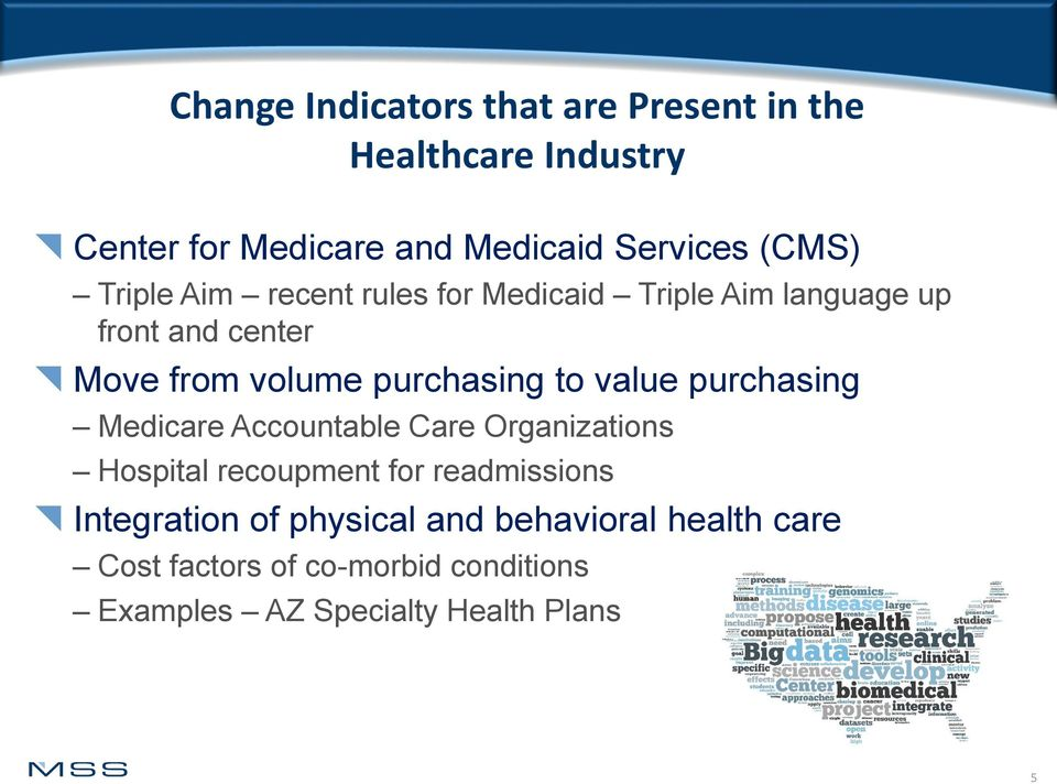 purchasing to value purchasing Medicare Accountable Care Organizations Hospital recoupment for readmissions