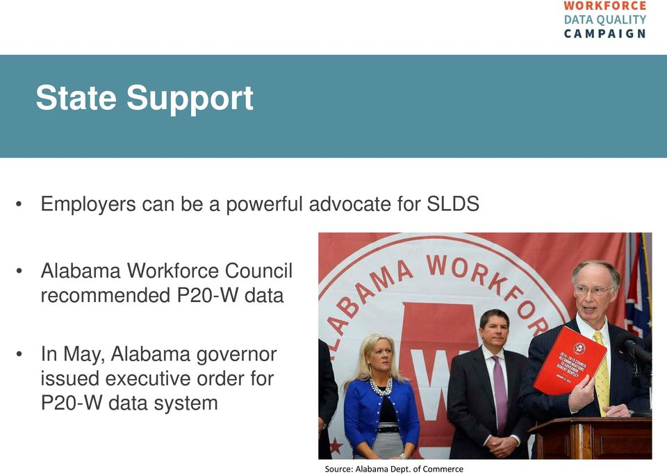 data In May, Alabama governor issued executive order