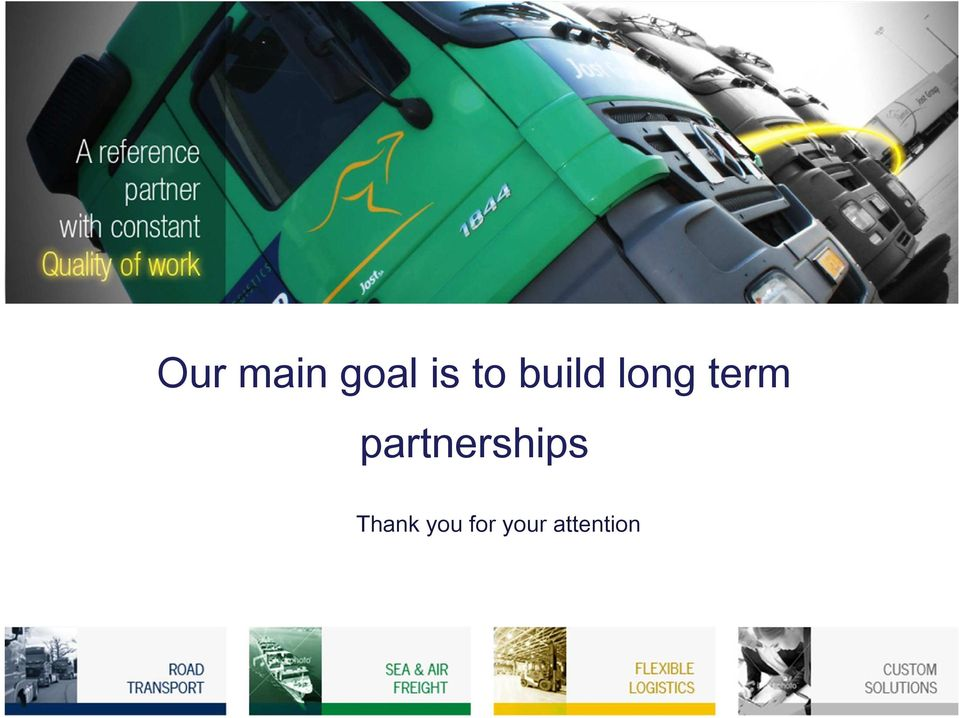 partnerships Thank