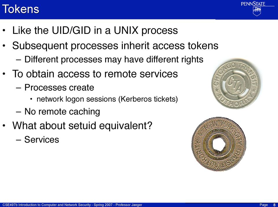 access to remote services Processes create network logon sessions
