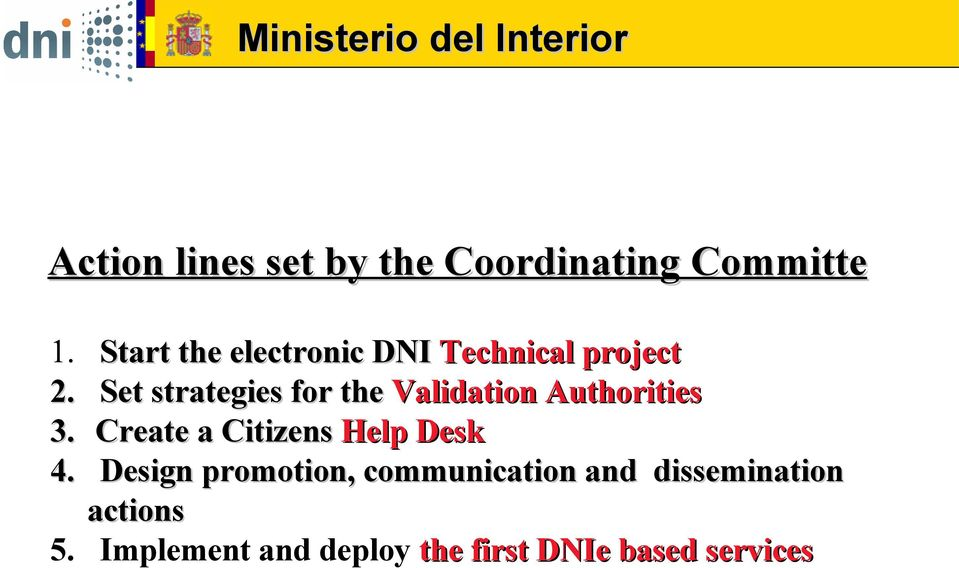 Validation Authorities Create a Citizens Help Desk Design promotion,