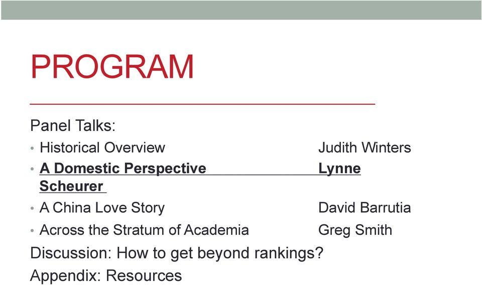 Lynne David Barrutia Across the Stratum of Academia Greg