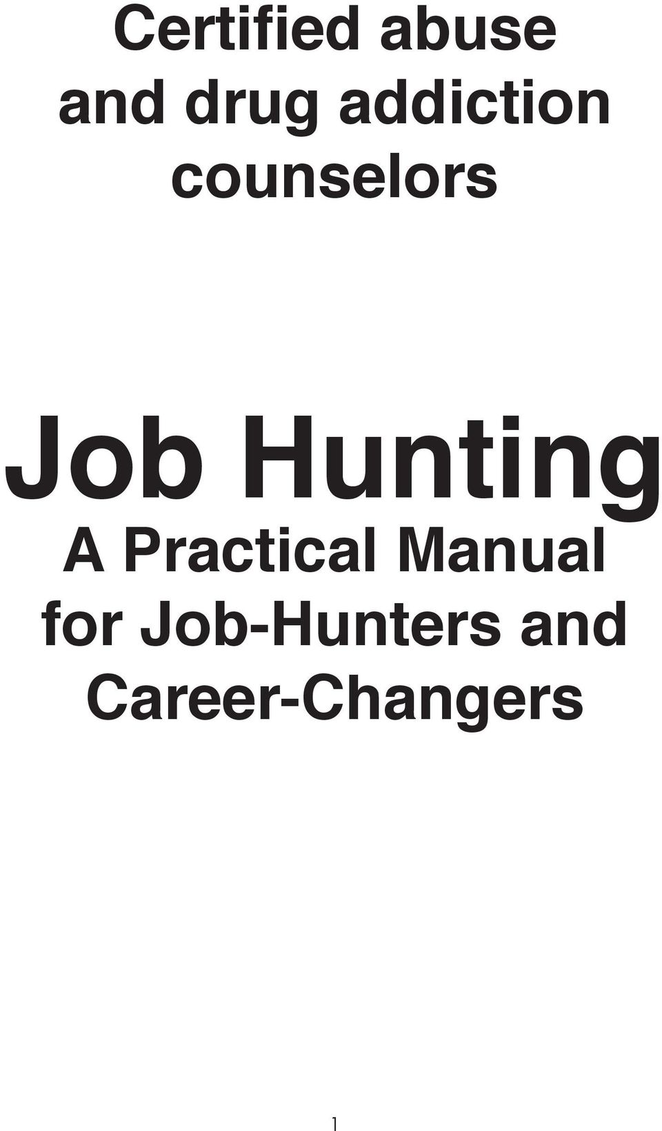Hunting A Practical Manual