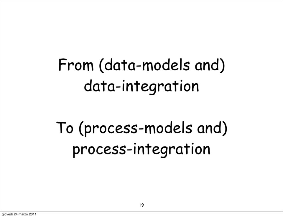 To (process-models
