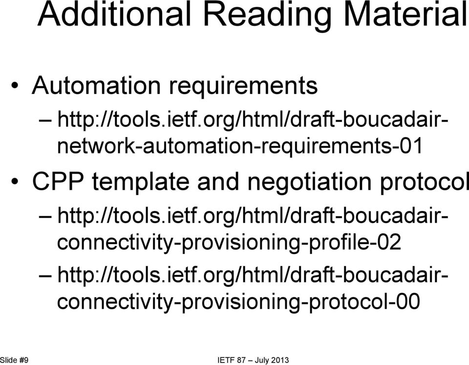 protocol http://tools.ietf.