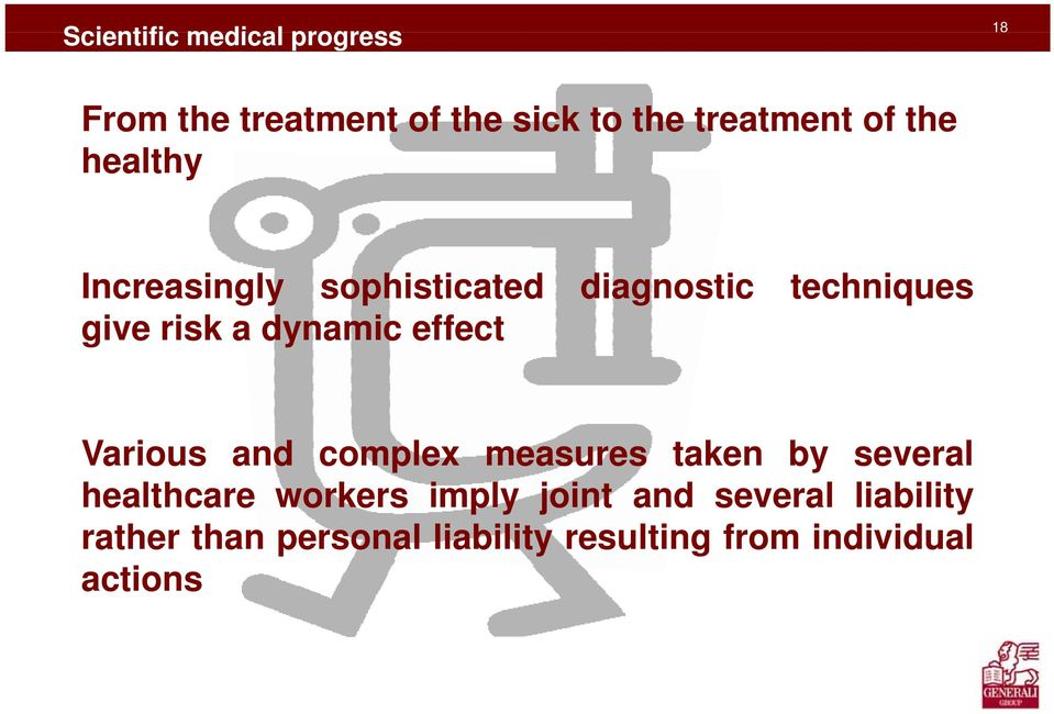effect Various and complex measures taken by several healthcare workers imply joint