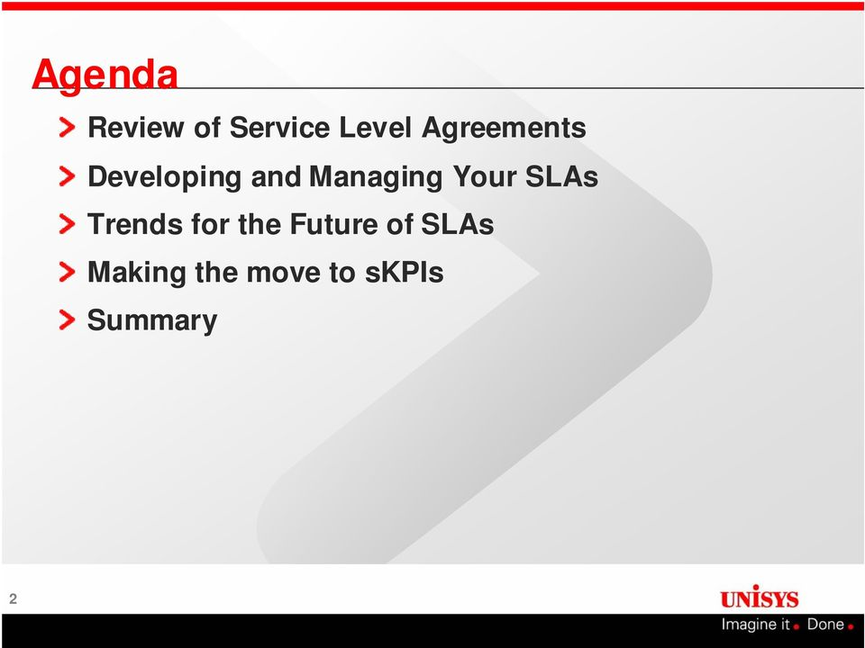 Your SLAs Trends for the Future of