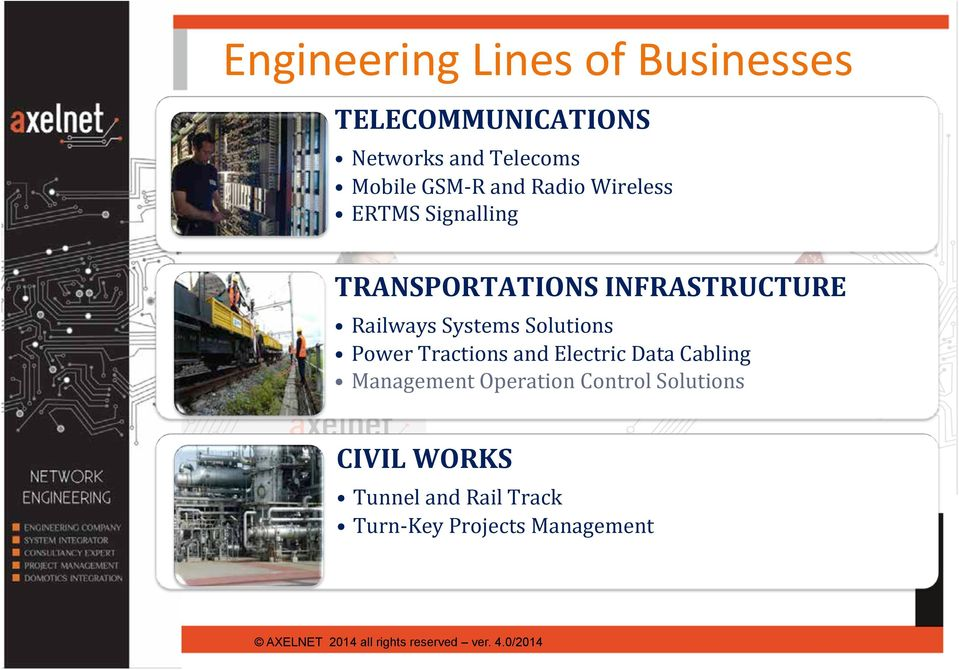 Railways Systems Solutions Power Tractions and Electric Data Cabling Management