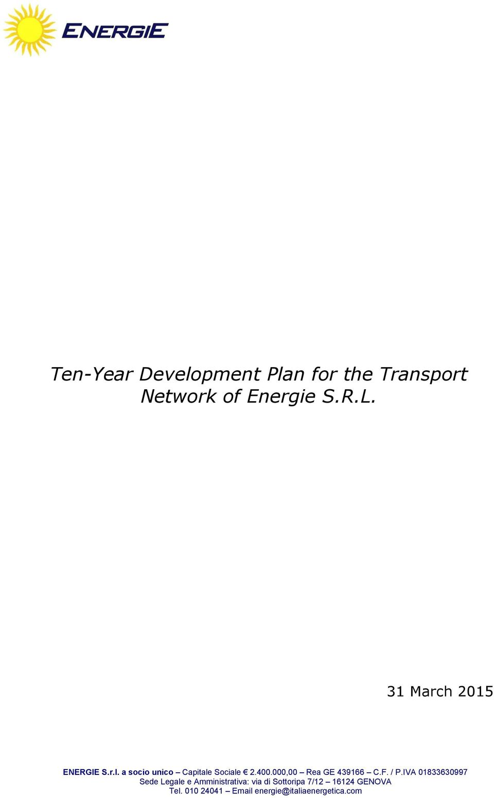 Transport Network of
