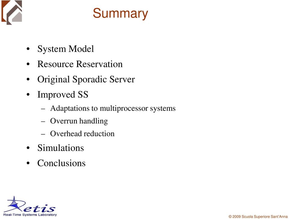 Adaptations to multiprocessor systems