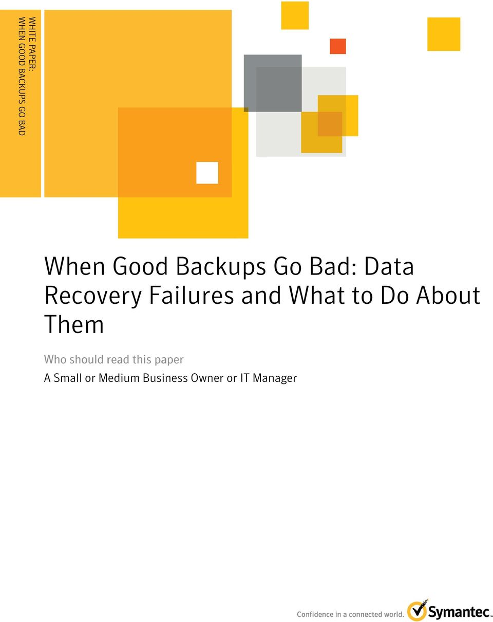 Backups Go Bad: Data Recovery Failures and What to Do
