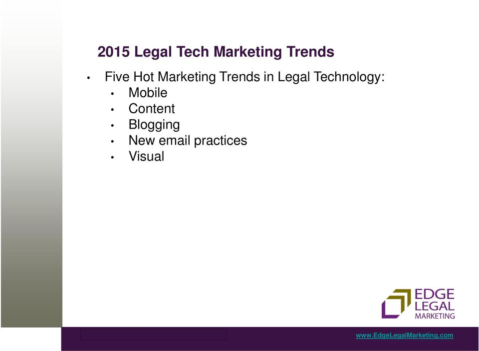 Legal Technology: Mobile Content