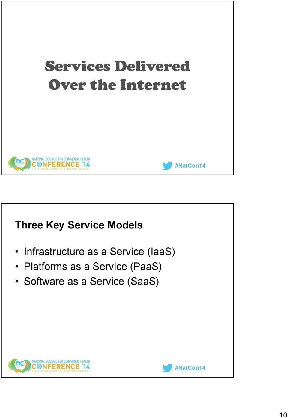 as a Service (IaaS) Platforms as a