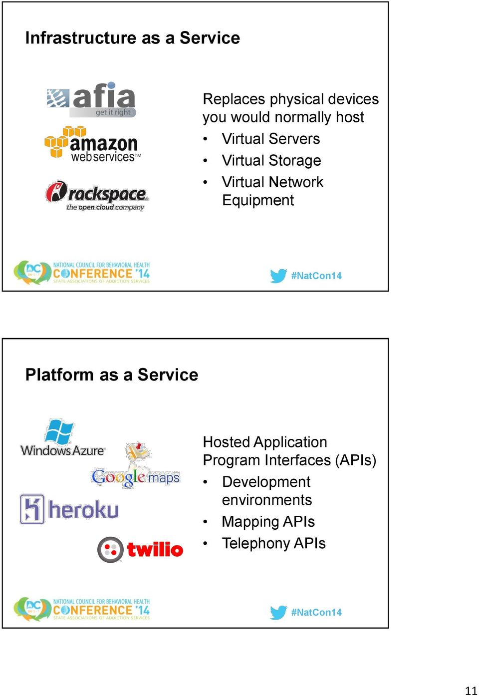 Equipment Platform as a Service Hosted Application Program