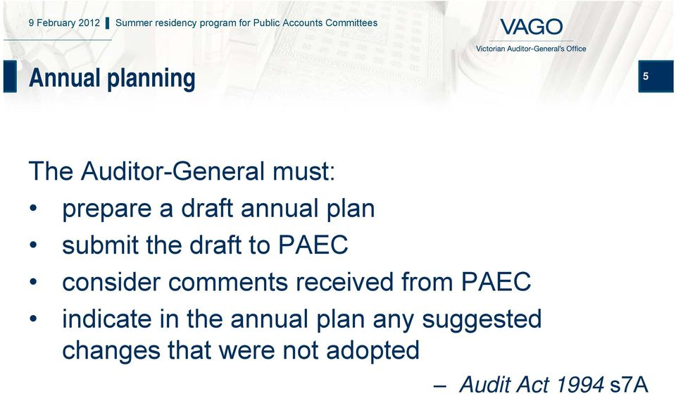 comments received from PAEC indicate in the annual plan