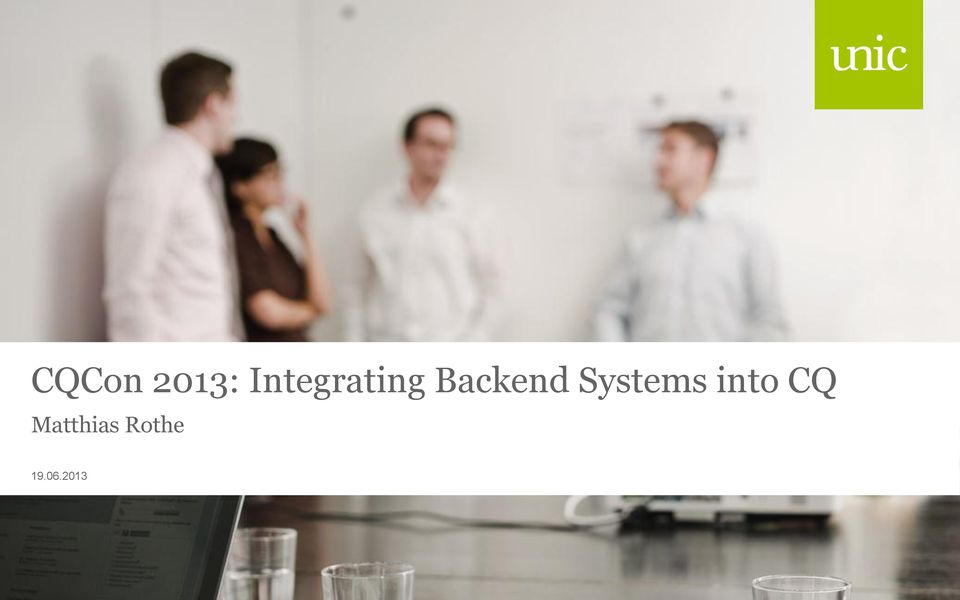 Backend s into