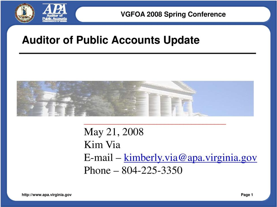 E-mail kimberly.via@apa.