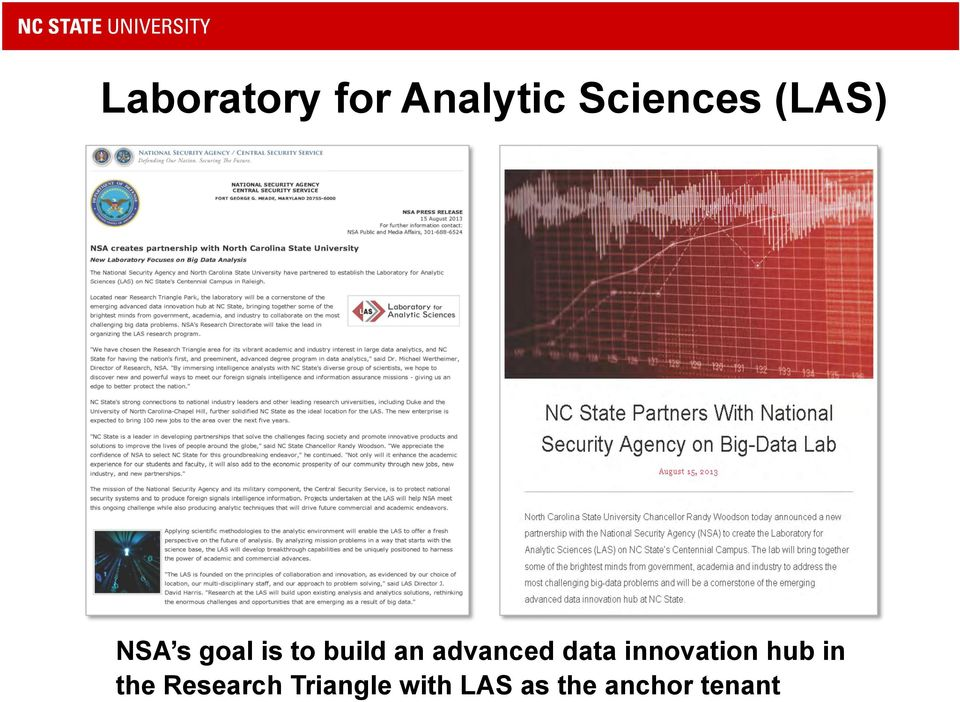 advanced data innovation hub in the
