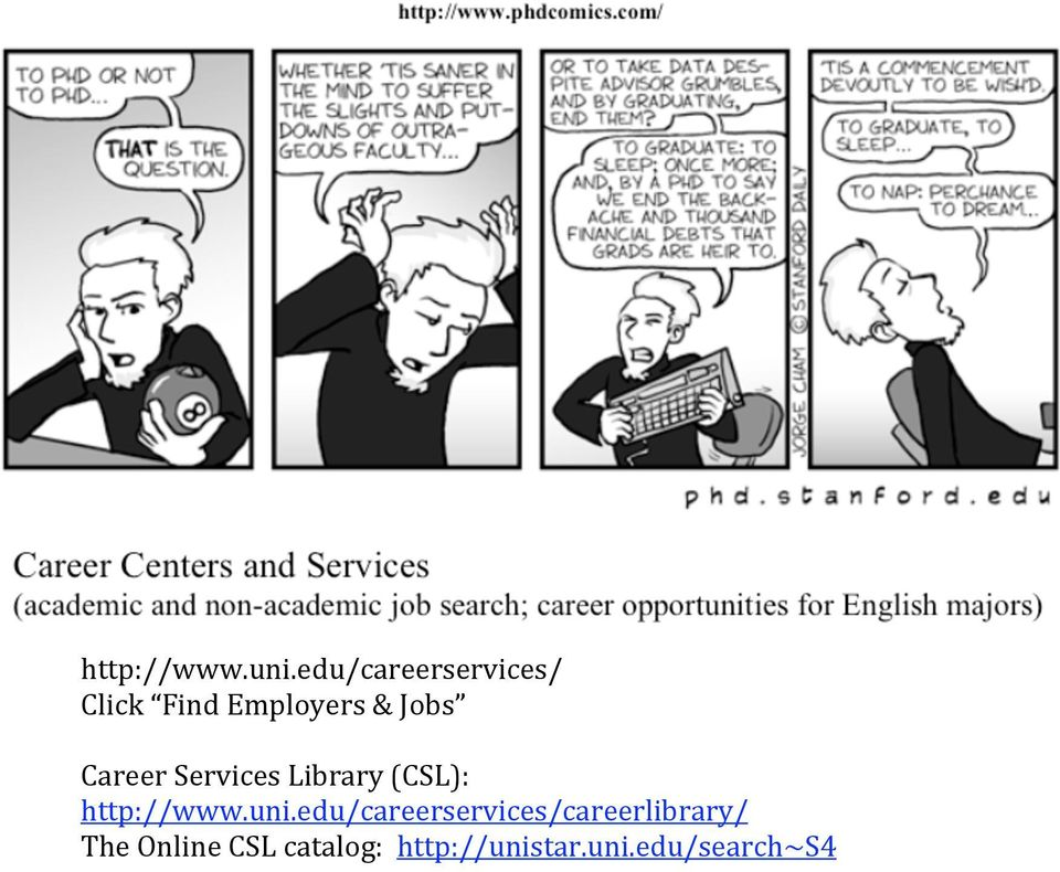 Career Services Library (CSL):