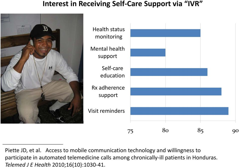 al. Access to mobile communication technology and willingness to participate in automated