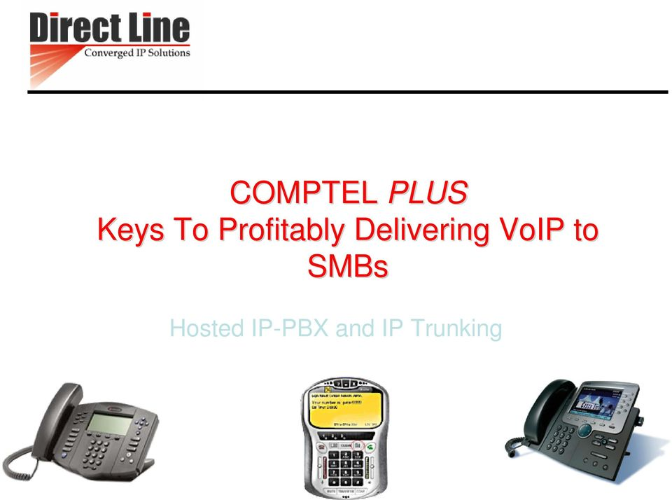 VoIP to SMBs Hosted