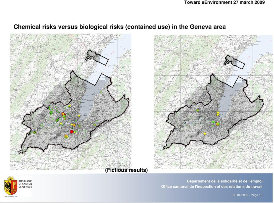 risks (contained use) in the Geneva