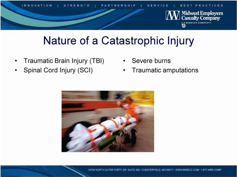 (TBI) Spinal Cord Injury
