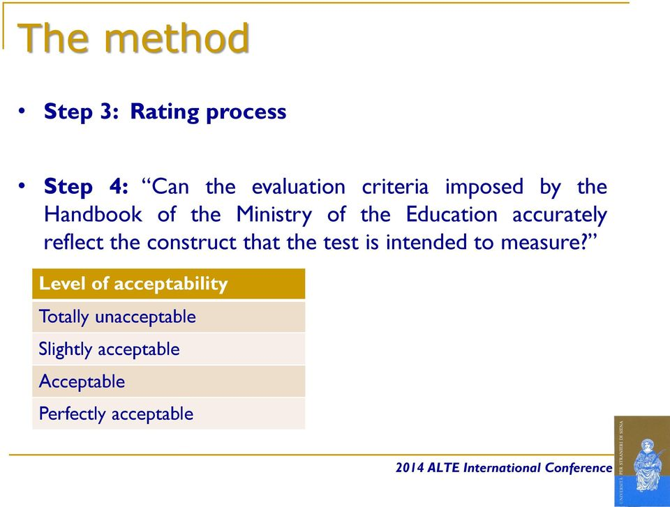reflect the construct that the test is intended to measure?
