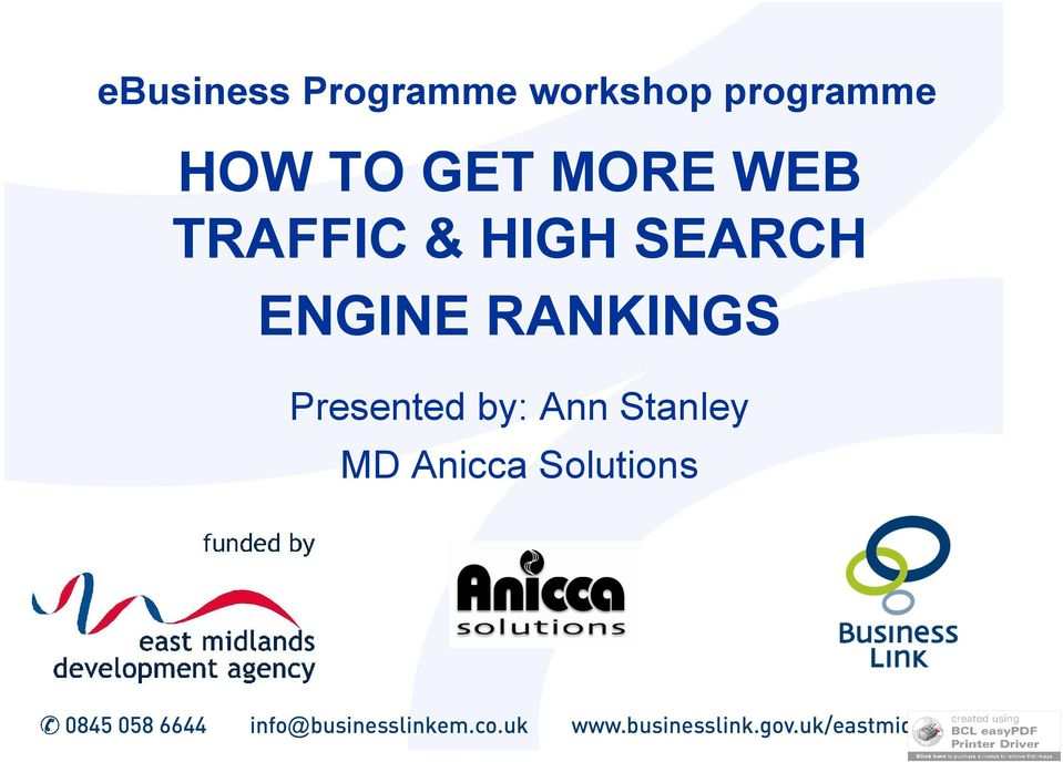 TRAFFIC & HIGH SEARCH ENGINE