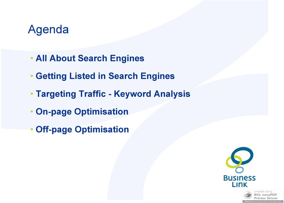 Targeting Traffic - Keyword
