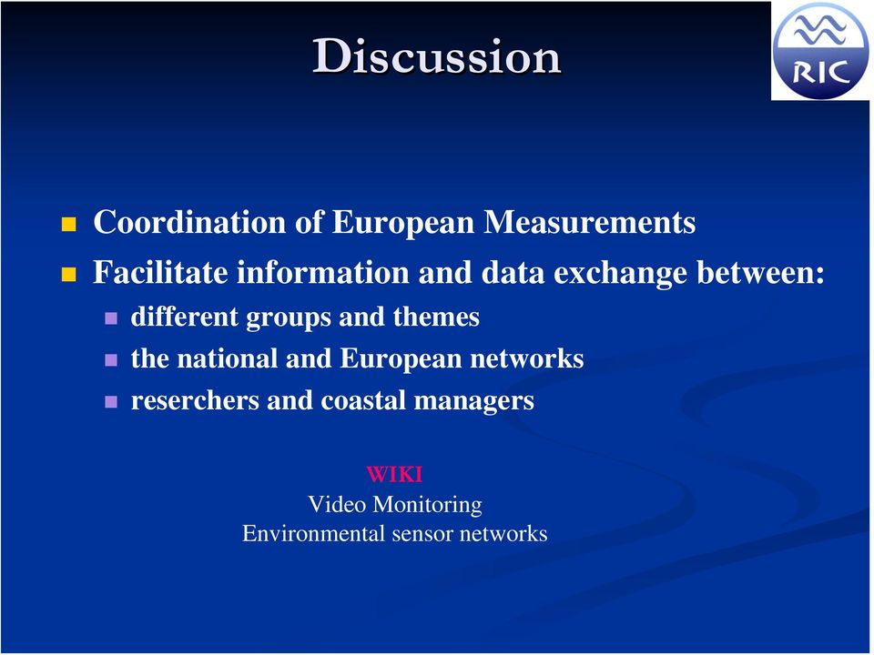 themes the national and European networks reserchers and