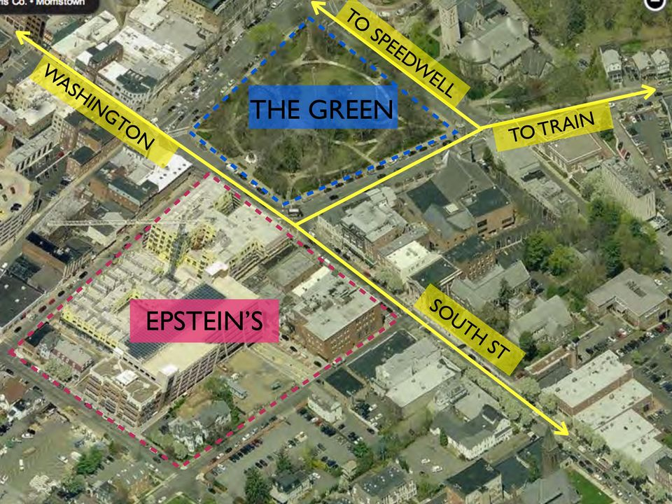 WASHINGTON THE GREEN TO TRAIN Urban Block