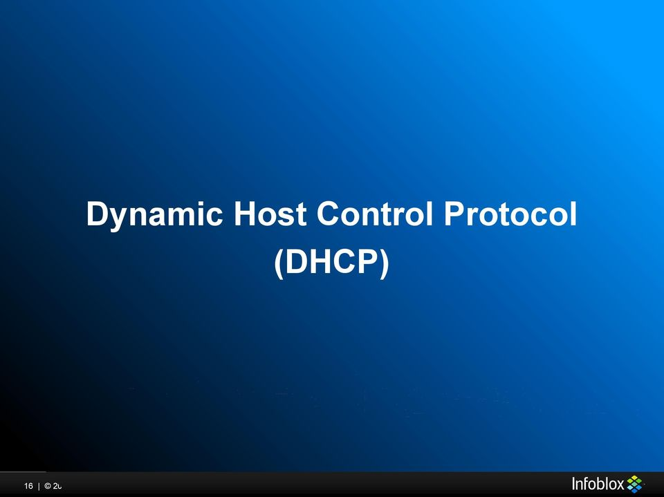 (DHCP) 16 2015