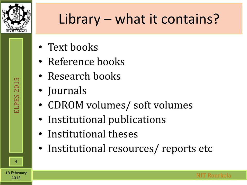 Journals CDROM volumes/ soft volumes