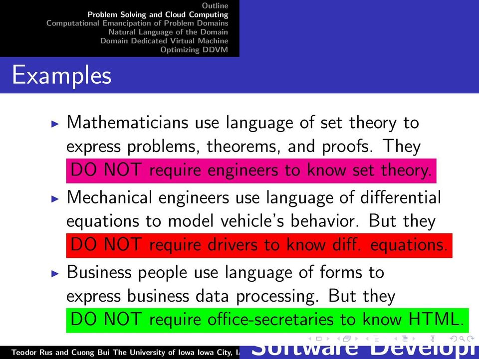 Mechanical engineers use language of differential equations to model vehicle s behavior.