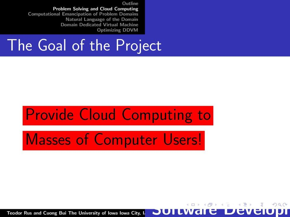 Cloud Computing to