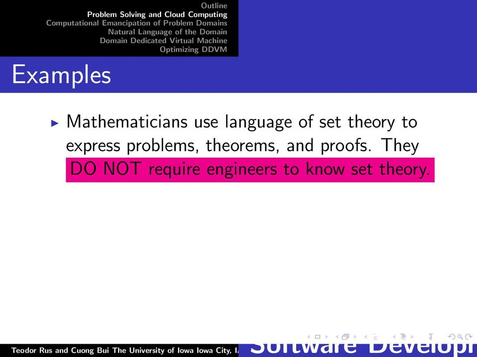 problems, theorems, and proofs.